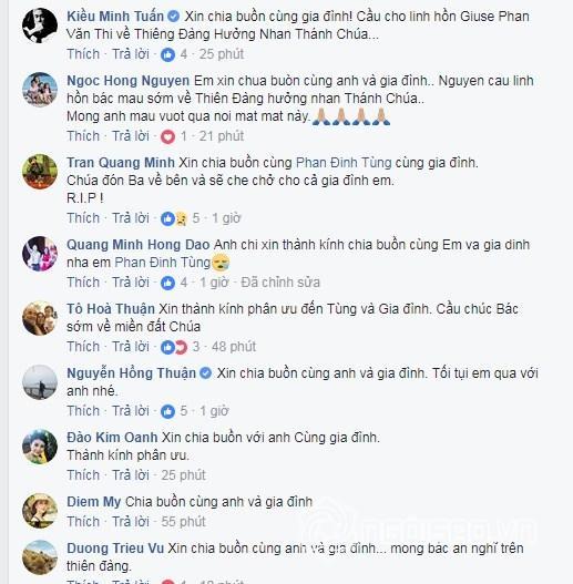 Sao Việt chia buồn khi bố của Phan Đinh Tùng qua đời-3