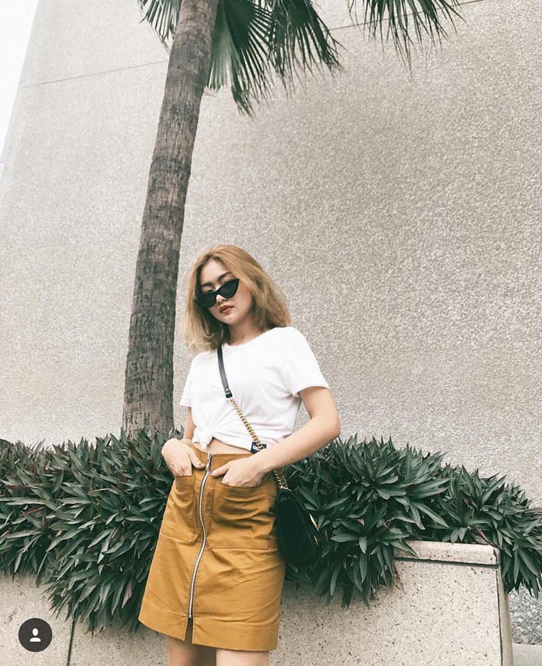 Diện nguyên cây xanh đỏ lòe loẹt, Châu Bùi - Khánh Linh mix đồ street style đẹp xuất sắc-7