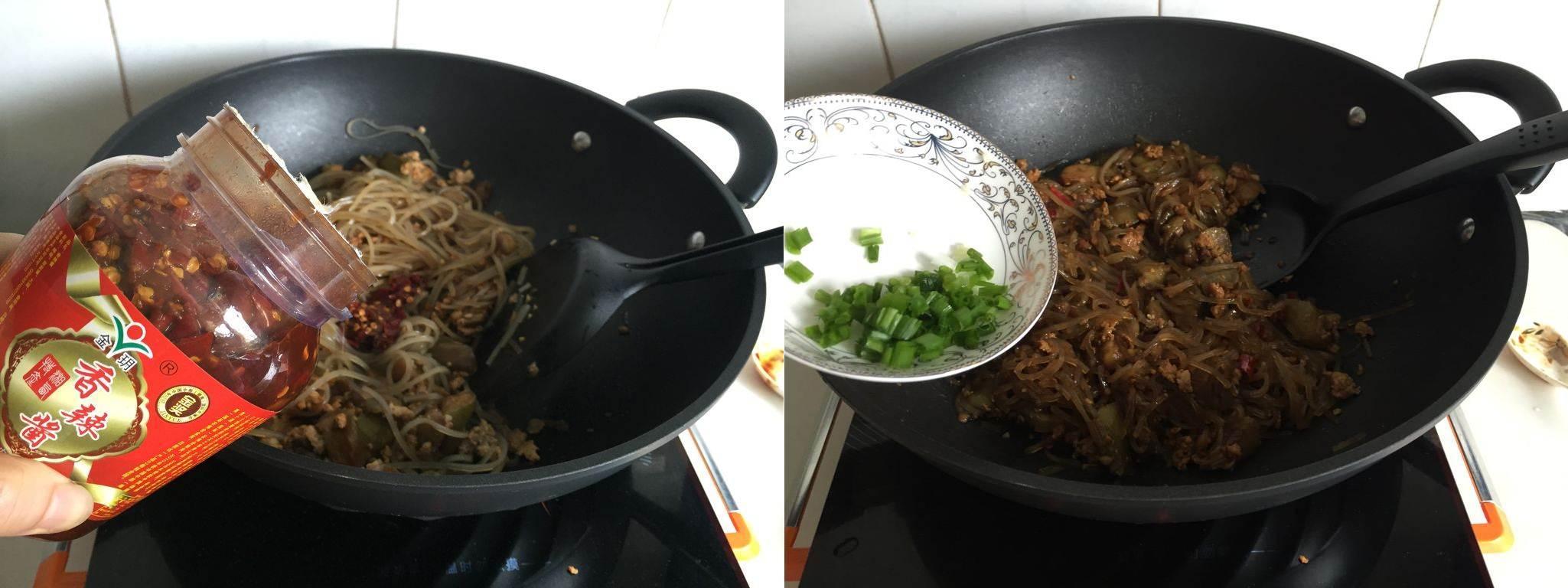 Bữa sáng thật ngon với miến xào thịt bằm giản dị-4
