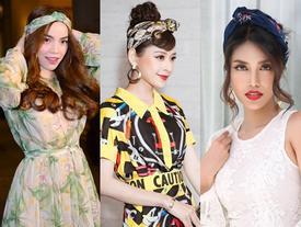 Muôn kiểu biến hóa khăn turban đẹp xuất sắc của dàn mỹ nhân Việt