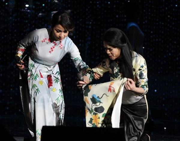 Thót tim với những pha ngã sấp mặt trên sân khấu của dàn sao Việt-9