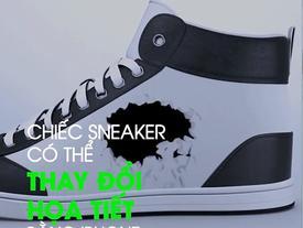 Chiếc Sneaker có thể thay đổi họa tiết bằng iPhone