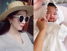 Tin sao Việt 19/8: Vy Oanh khoe cận mặt 'tiểu công chúa' dễ thương chưa đầy 1 tháng tuổi