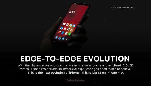 Ngắm concept iPhone 8 UI với thanh Home Bar thông minh-1
