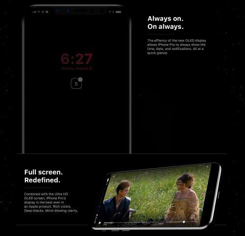 Ngắm concept iPhone 8 UI với thanh Home Bar thông minh-5