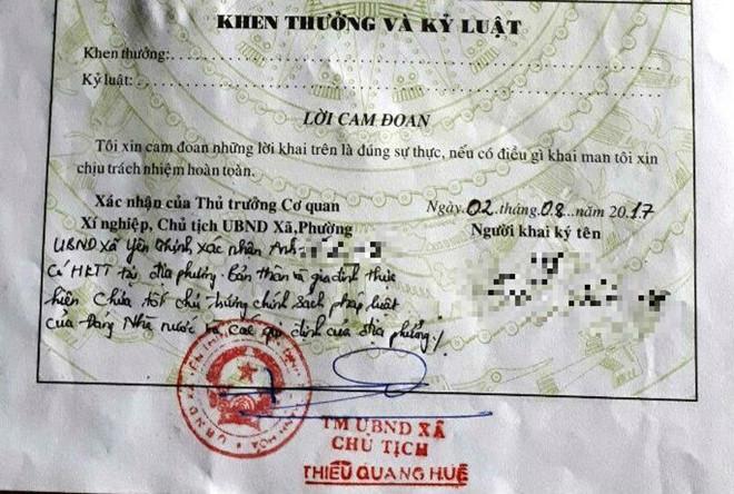 Phó chủ tịch Thanh Hóa chỉ đạo chấn chỉnh việc xã phê lý lịch xấu-2