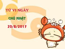 Tử vi chủ nhật ngày 20/8/2017 của 12 cung hoàng đạo