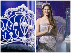 Cận cảnh vương miện 2,7 tỷ đồng thiết kế riêng cho tân Hoa hậu Hoàn Vũ Việt Nam 2017