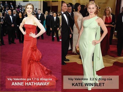 10 bộ váy 'đắt không tưởng nổi' trong lịch sử thảm đỏ