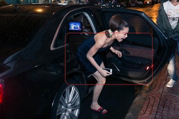 Nhìn ảnh người thường và nhiếp ảnh chụp, người ta vẫn không biết đâu là đôi chân thật của Hà Hồ-8