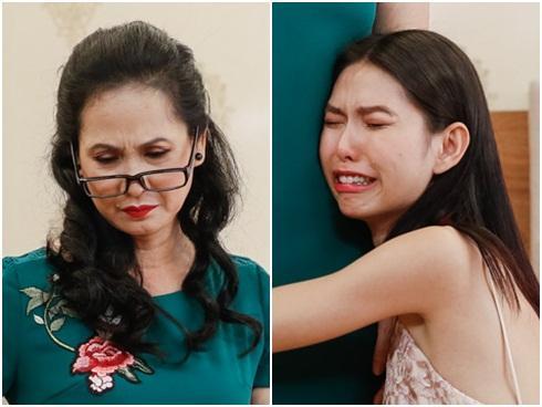 Ghê gớm 'có số má', Thùy Dương Next Top vẫn khóc tức tưởi trước 'bà Phương mẹ chồng'