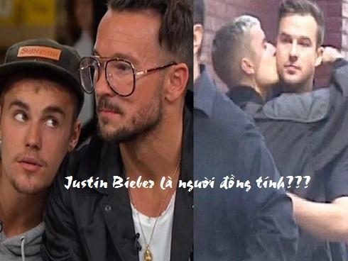 Những màn ôm hôn cùng giới của 'hoàng tử pop' Justin Bieber khiến fan sững sờ