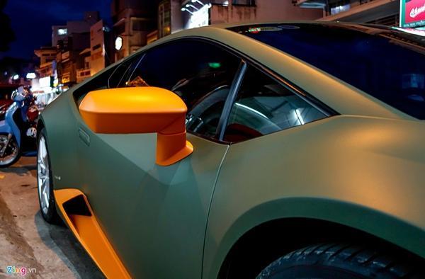 Lamborghini Huracan phong cách máy bay chiến đấu ở Sài Gòn-7