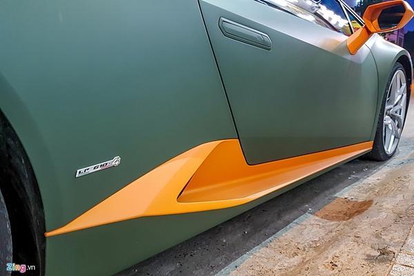 Lamborghini Huracan phong cách máy bay chiến đấu ở Sài Gòn-8
