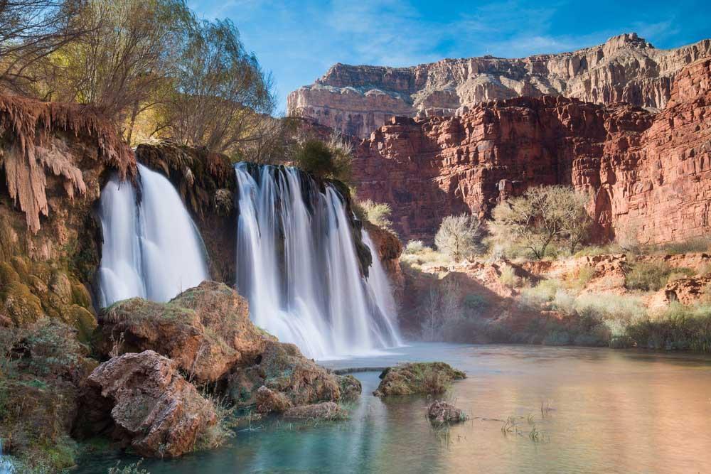 Phát cuồng vì thác nước đẹp không tưởng ẩn mình trong hẻm núi-2