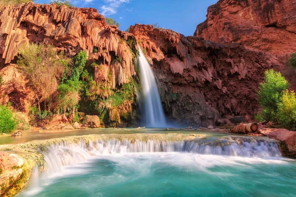 Phát cuồng vì thác nước đẹp không tưởng ẩn mình trong hẻm núi-3