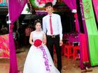 Đám cưới của chàng 1m83 - nàng 1m39 được chia sẻ nhiệt tình nhất hôm nay