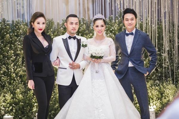 Tái xuất với Ngôi nhà hoa hồng trong đám cưới anh trai, Bảo Thy - Quang Vinh vẫn tình tứ như xưa-5
