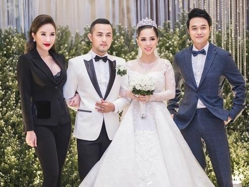 """Tái xuất với """"Ngôi nhà hoa hồng"""" trong đám cưới anh trai, Bảo Thy – Quang Vinh vẫn tình tứ như xưa"""