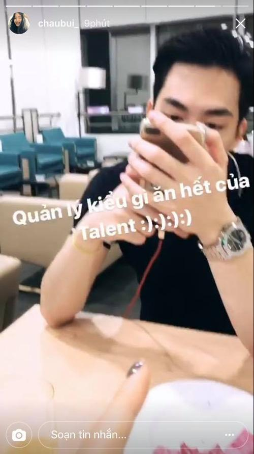 Cuối cùng, Châu Bùi cũng đã cho người yêu tin đồn lên sóng Instagram-3