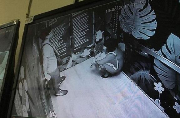 Vụ đôi nam nữ bị thương khi kẹt thang máy: Công an vào cuộc điều tra nguyên nhân-1