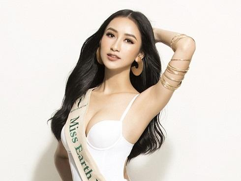 Á hậu Hà Thu chính thức đại diện Việt Nam tranh vương miện 'Miss Earth 2017'