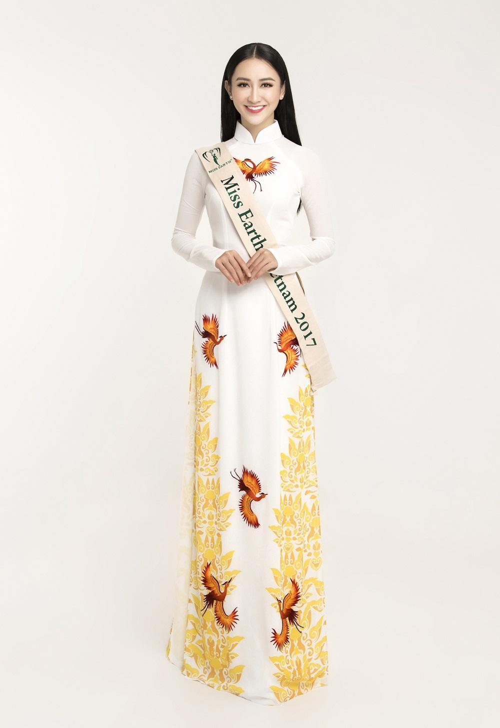 Á hậu Hà Thu chính thức đại diện Việt Nam tranh vương miện Miss Earth 2017-1