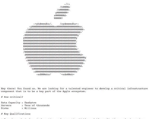 Cách đăng tin tuyển dụng chẳng giống ai của Apple