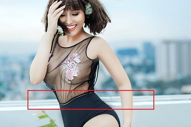 Đã xây lại 3 vòng, Phi Thanh Vân vẫn bị bóc mẽ photoshop ảnh nuột đến méo tường-2