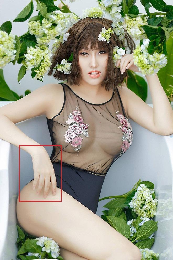 Đã xây lại 3 vòng, Phi Thanh Vân vẫn bị bóc mẽ photoshop ảnh nuột đến méo tường-3