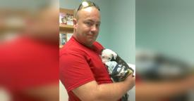 Firefighter Saves Pit Bull From Fire, But Watch What Happens 5 Months Later…