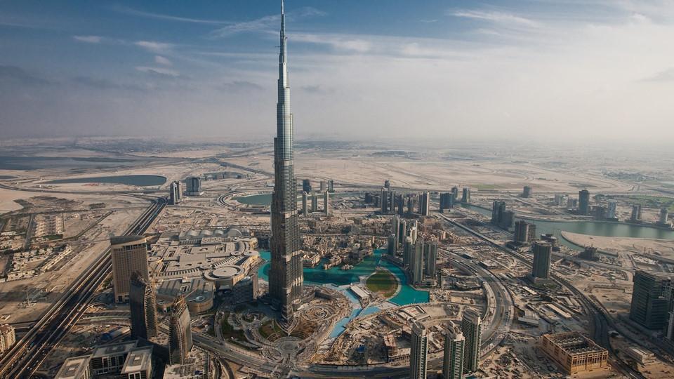 Công cuộc lấn biển xây đảo khổng lồ của Dubai-1