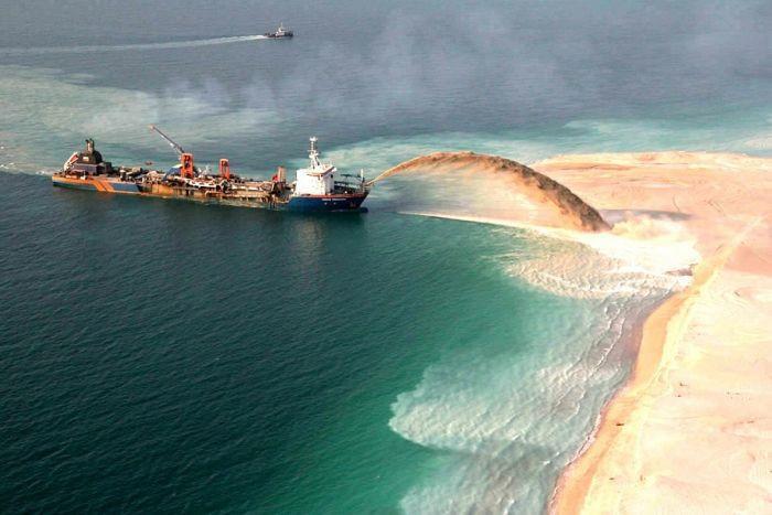Công cuộc lấn biển xây đảo khổng lồ của Dubai-9