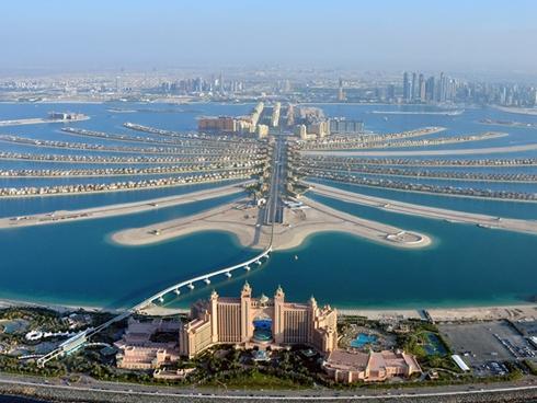 Công cuộc lấn biển xây đảo khổng lồ của Dubai