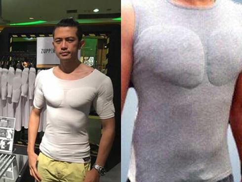 Châu Á: Phụ nữ lén lút độn mông thì giờ đàn ông cũng âm thầm mặc áo độn ngực