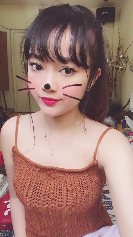 Hot girl - hot boy Việt 22/8: BB Trần hướng dẫn make up giống búp bê ma Annabelle-8