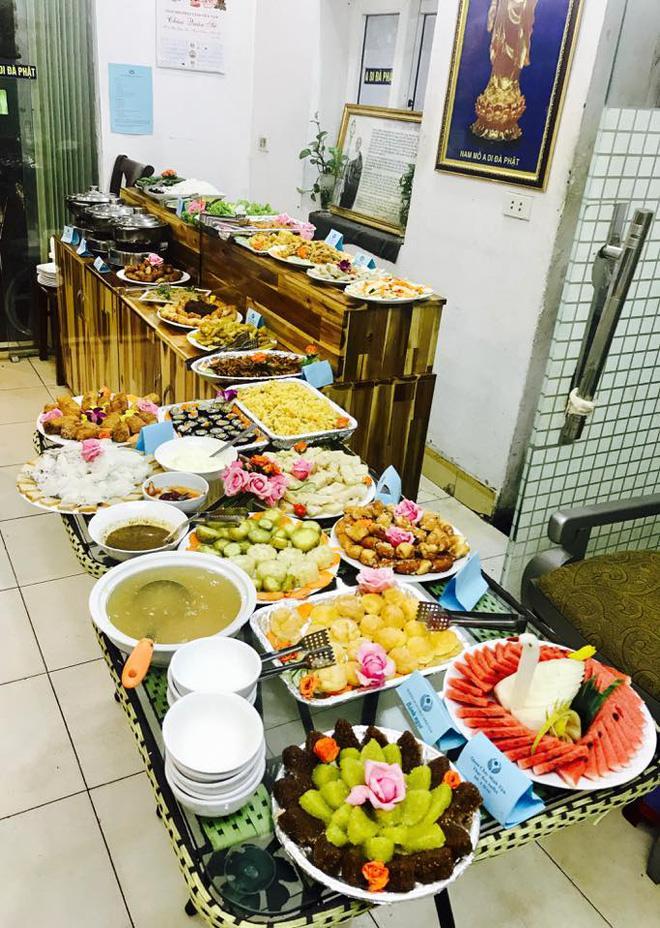 8 địa chỉ buffet chay cực bình dân nên thử ngay cho ngày đầu tháng Vu Lan-2