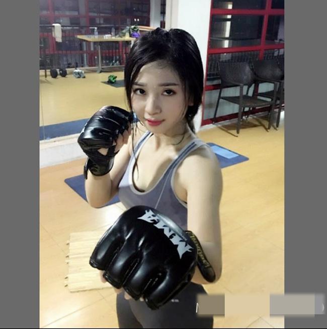 Bỏng mắt với loạt ảnh của hot girl phòng gym đến từ Quảng Ninh-8