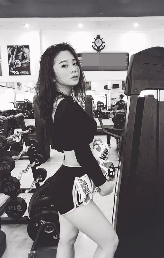 Bỏng mắt với loạt ảnh của hot girl phòng gym đến từ Quảng Ninh-1