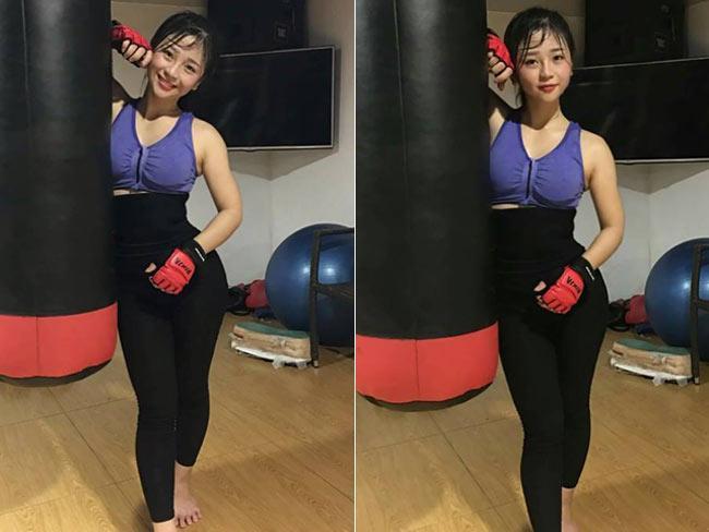 Bỏng mắt với loạt ảnh của hot girl phòng gym đến từ Quảng Ninh-6