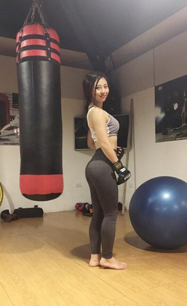 Bỏng mắt với loạt ảnh của hot girl phòng gym đến từ Quảng Ninh-5
