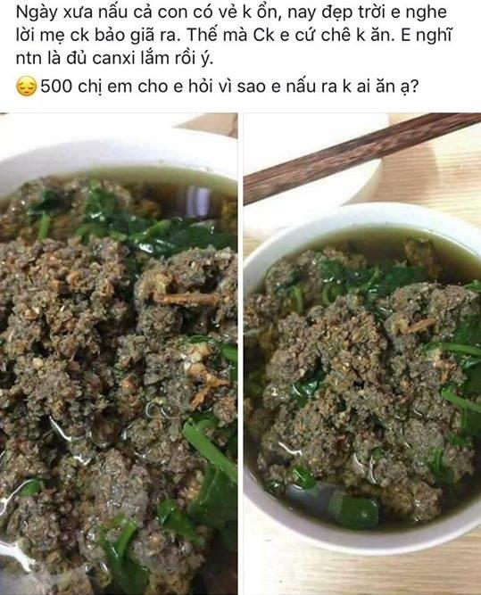 Chồng thèm ăn canh cá rô nấu rau cải, vợ tức tốc nấu như này, bạn có dám ăn không?-5