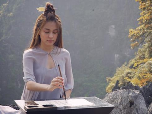 Sao Việt mê mẩn cảnh sắc tuyệt đẹp của núi Múa