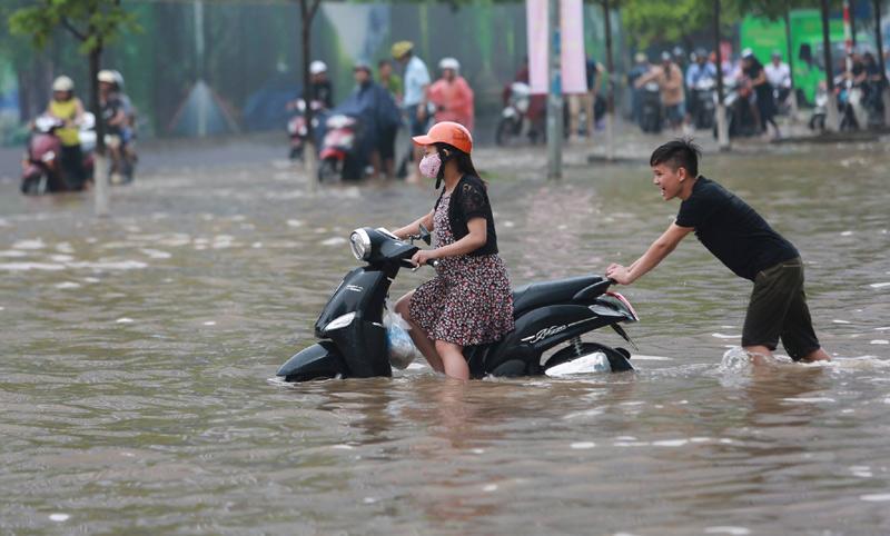 Dự báo thời tiết 23/8: Ảnh hưởng bão số 6, Hà Nội nguy cơ ngập-1