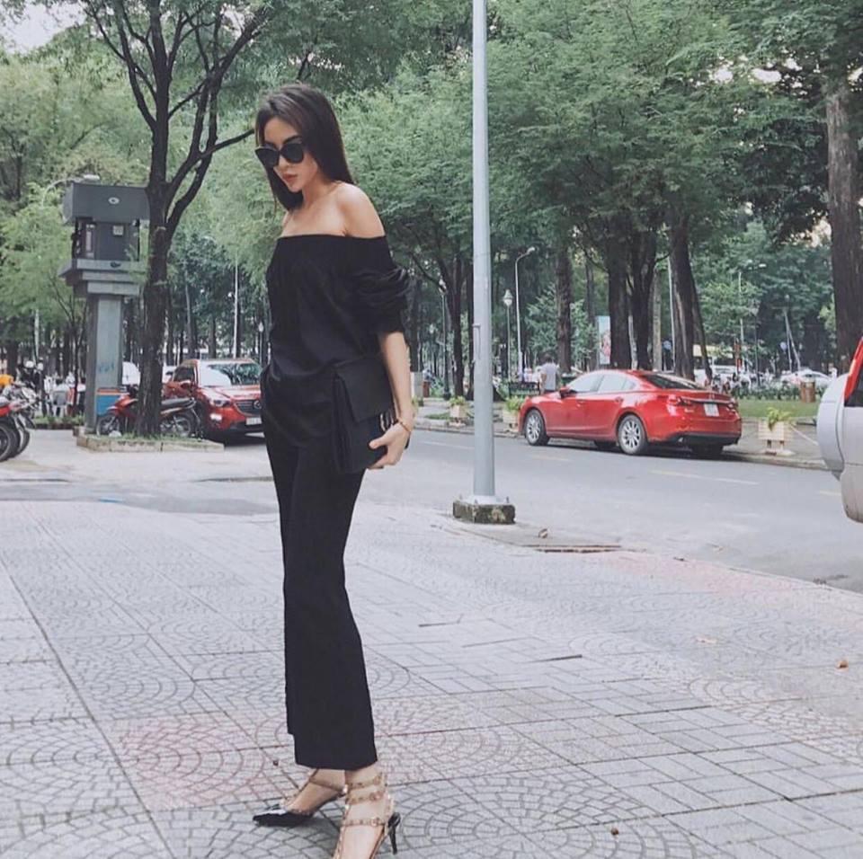 Diện áo một gang, Hòa Minzy - Tóc Tiên đẹp quên lối về trong street style tuần này-5
