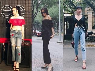 Diện áo một gang, Hòa Minzy - Tóc Tiên đẹp 'quên lối về' trong street style tuần này