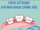 Cách sử dụng chỉ nha khoa không gây hại răng