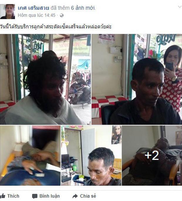 Thấy người đàn ông khốn khổ đi vào tiệm, cô thợ cắt tóc liền trổ tài và kết quả thật đáng kinh ngạc-2
