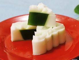 Cách làm bánh trung thu rau câu nhân trà xanh ngọt mát, ăn chẳng lo béo