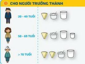 Mỗi ngày dùng bao nhiêu sữa, sữa chua, phô mai là đủ?